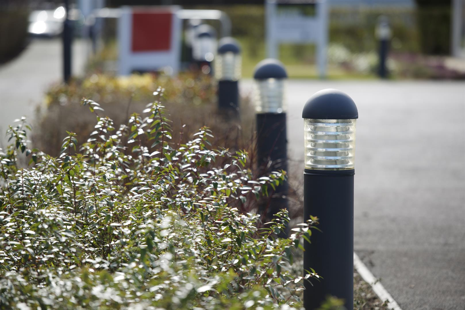 Marshalls Steel Bollards